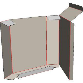 Картонная коробка на 1 точку