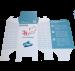 Картонная коробка из МГК, с логотипом Фонда.