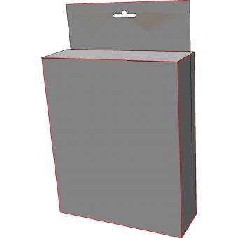 Картонная коробка с хедером