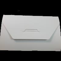 Конверт картонный, А5, плоский.